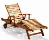Buy Or Sell  Garden Loungers - Teak Sun Loungers With Arms