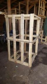 Pallets, Packaging and Packaging Timber - New One Way Pallet Romania