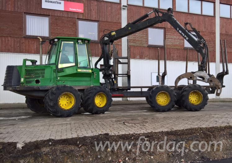 Used-John-Deere---17-652-1110-D-ECO-III-2007-Forwarder