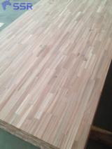 Buy And Sell Edge Glued Wood Panels - Register For Free On Fordaq - FSC Acacia wood finger joint wood board