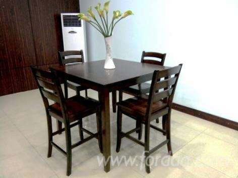 Rubberwood Dining Room Set