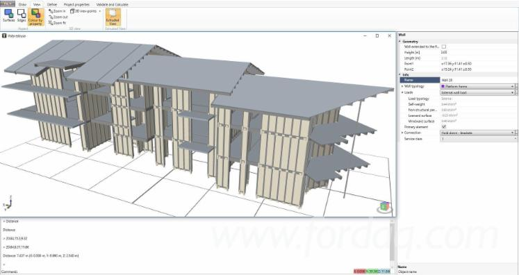 Design software for timber structures