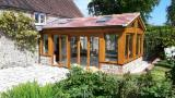 Wood Houses - Precut Timber Framing - Douglas Fir Timber Framed Cabins