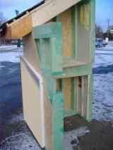 Casă Cu Schelet Din Lemn - Structuri lemn