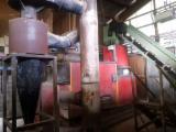 带实木(原木)炉的锅炉系统 COMPTE 旧 法国