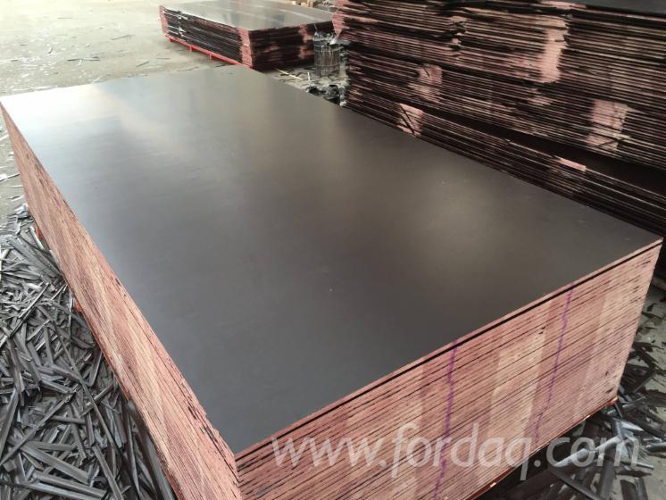 12mm Wbp Glue Poplar Brown Film Faced Plywood