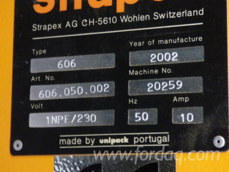 Gebruikt-STRAPEX-BETA-606-Verpakkingseenheid-En-Venta