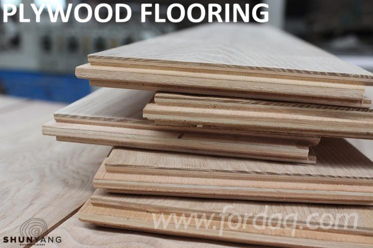Engineered oak wood flooring factory price fsc 15 mm thick for Wood floor factory