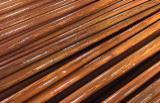 Tool Handles Or Sticks - PVC-coated Wooden Broom Handle 0.9; 1.1; 1.2 m