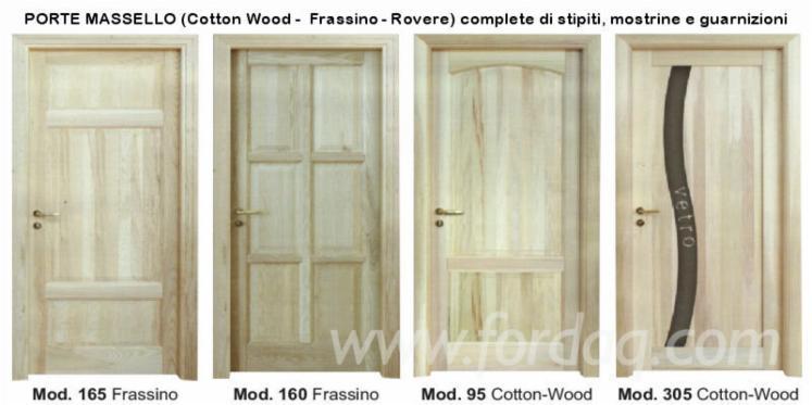 Oak Solid Wood Doors