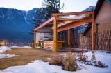 Дерев'яні Будинки - Каркасні Будинки Для Продажу - Попередньо Відрізні Балки, Ялиця, Ялина  - Біла