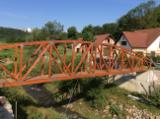 Houten Huizen – Voorgezaagd Vakwerkbouw En Venta - Spar , Gewone Spar  - Vurenhout