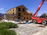 Case Din Lemn Molid - complex de apartamente structura de lemn(osature bois) - Le Merrain,Meribel