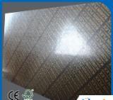 覆膜胶合板(棕膜), 桤