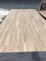 Edge Glued Panels For Sale - Acacia Wood Finger Jointed Panel, 15; 18; 22; 30; 33; 40; 44; 51; 56; 63 mm