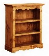 Traditional Living Room Furniture - Traditional Pine - Redwood Storage Cupboard