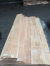Red Oak Natural Veneer, Quartered, 0,55 mm thick