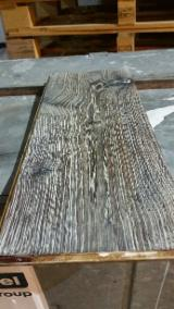Solid Wood Flooring - Oak Driftwood Parquet, Tongue & Groove, 15 mm thick