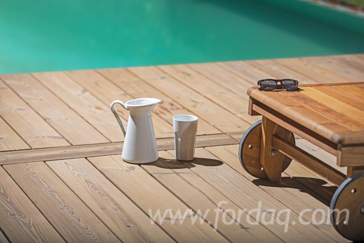 Vend lame de terrasse 1 face rainur e pin bois rouge estonie - Lame de terrasse belgique ...