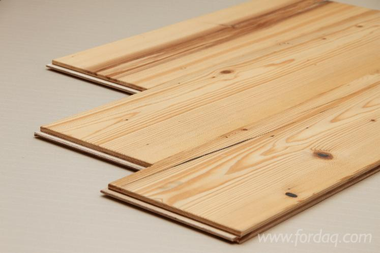 Engineered Reclaimed Wood Scots Pine Flooring 16 Mm Thick