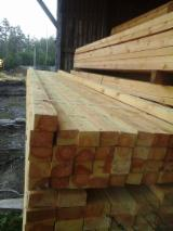 整边材, 红松, 云杉-白色木材, 热电处理的