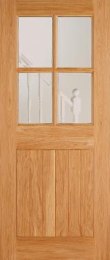 Двері, Вікна, Сходи - Азіатська Листяна Деревина, Двері, Деревина Масив, Meranti, Dark Red , Meranti, Light Red , Nyatoh