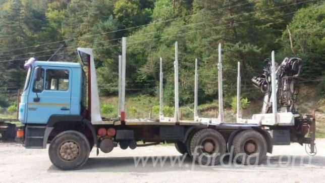 Used-MAN-Short-Log-Truck