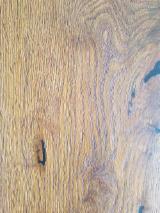 Zweischicht- Dreischichtparkett - Eiche, Einblatt Breitdiele