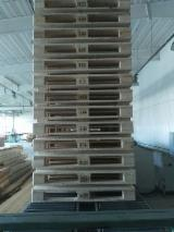 Pallets – Packaging - New Spruce Wooden Pallets 144 x 800 x 1200 mm