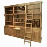 Indonesia Living Room Furniture - Teak Display Cabinet Best Prices, 200 x 50 x 200