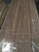 天然单板, 胡桃木, 向下刨平