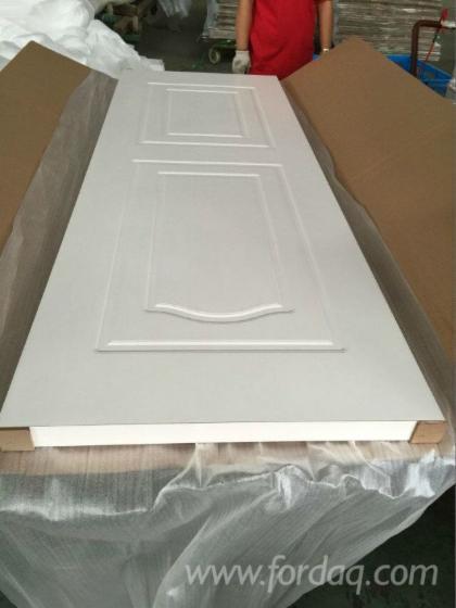 White HDF Door Skin, 2.5;2.7;3;3.2;3.6;4;4.2;4.5 mm thick