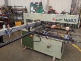 Sabit Işlemeler Için Üniversal Çok Kafalı Delme Makineleri SCM MB63 Used Fransa