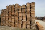 Laubholz  Blockware, Unbesäumtes Holz Zu Verkaufen Frankreich - Blockware, Eiche