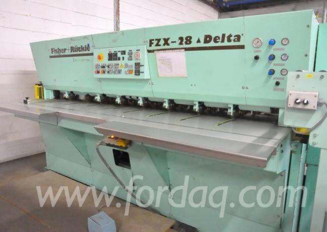 Used-Fischer-Und-R%C3%BCckle-FZX-28-Delta-1999-Veneer-Production-Machines---Veneer-Processing---Other