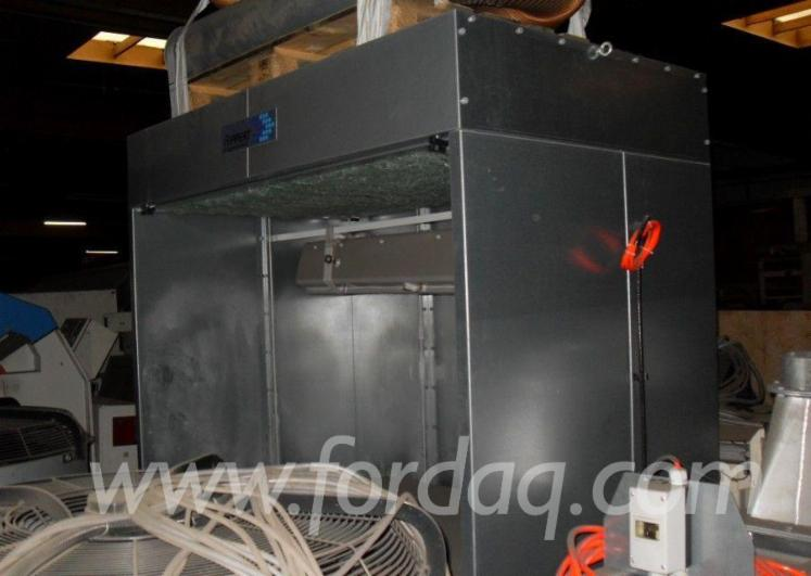 Used-Rippert-Spritzwand-F%C3%BCr-Kleinteile-2005-Dust-Extraction-Facility-For-Sale