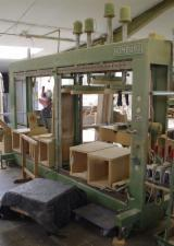 HOMBURG Woodworking Machinery - Used Homburg Korpusspresse 1980 For Sale Germany