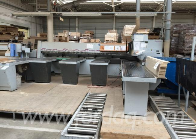 Panel Saw For Sale >> Used Holzma Hpp 82 43 2001 Horizontal Panel Saw For Sale Germany