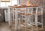 Dining Room Furniture - Soild Wood Acacia Fano Bar Table and Chair