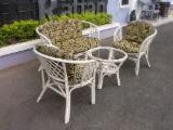Art & Crafts/Mission Living Room Furniture - Bahama Rattan Set