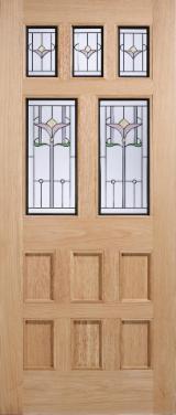 Двері, Вікна, Сходи - Двері, Дошки Середньої Плотності (МDF), Дійсна Лісова Фанера
