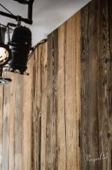 "Pine  - Redwood Solid Wood Panels - Original ""Sunburnt"