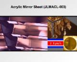 Hall - Acrylic (PMMA) Mirror Sheet (JLMACL-003) with Scratch Resistance