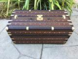 Wardrobes Bedroom Furniture - LOUIS VUITTON Antique Ideal Monogram Wardrobe Steamer Trunk chest purse bag----6900Euro