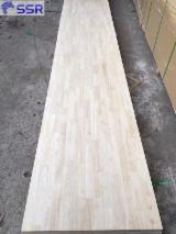 Rubberwood Finger Jointed Panels for Furniture, 15 - 63 mm thick