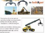 Forest & Harvesting Equipment Grapple - Telelogger for wood log handling,Logger equipment