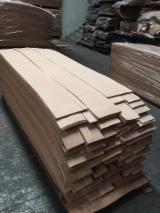 Sliced Veneer For Sale - Beech Natural Veneer, Flat cut - plain, 0.55 mm thick