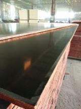Plywood - Black Film Faced Shuttering Plywood, Poplar Core, 18 x 1220 x 2440 mm