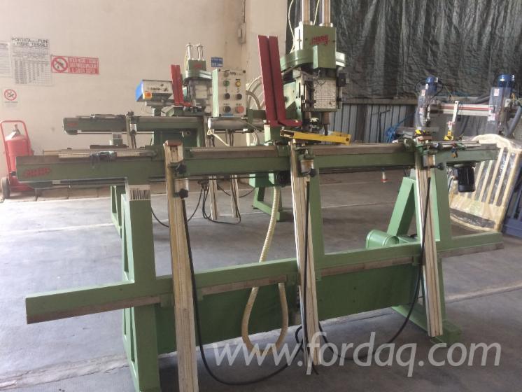 Vertical-hinge-boring-inserting-machine