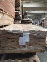 天然单板, 橡木, 向下刨平